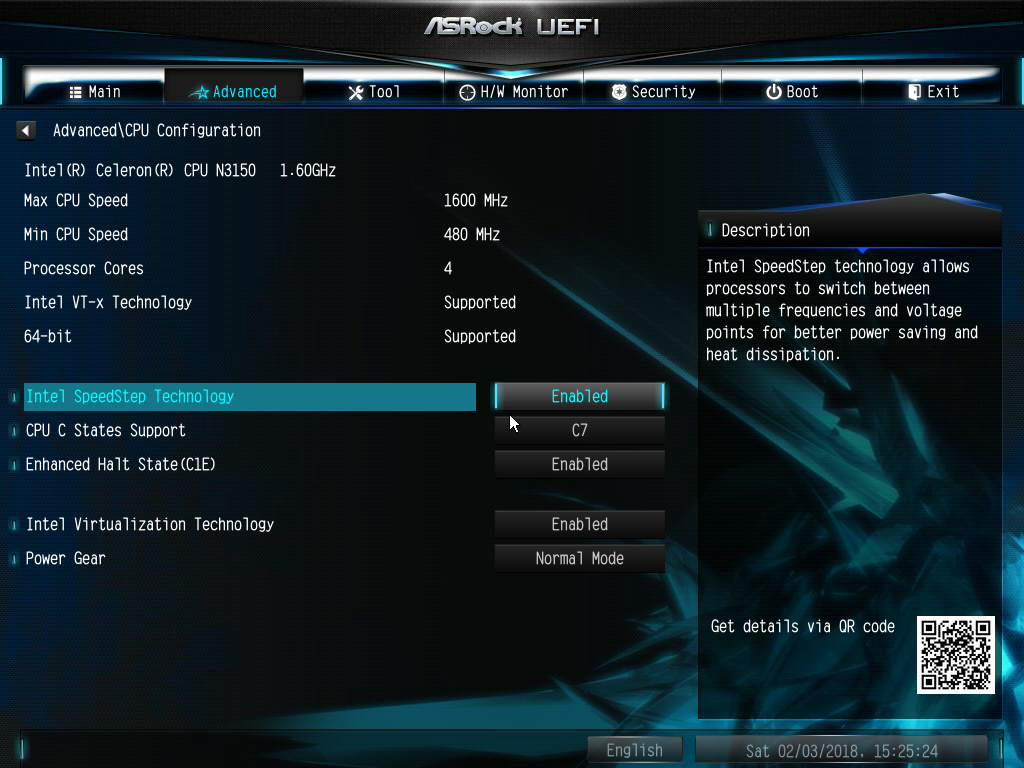 ASRock N3150-ITX | iXsystems Community