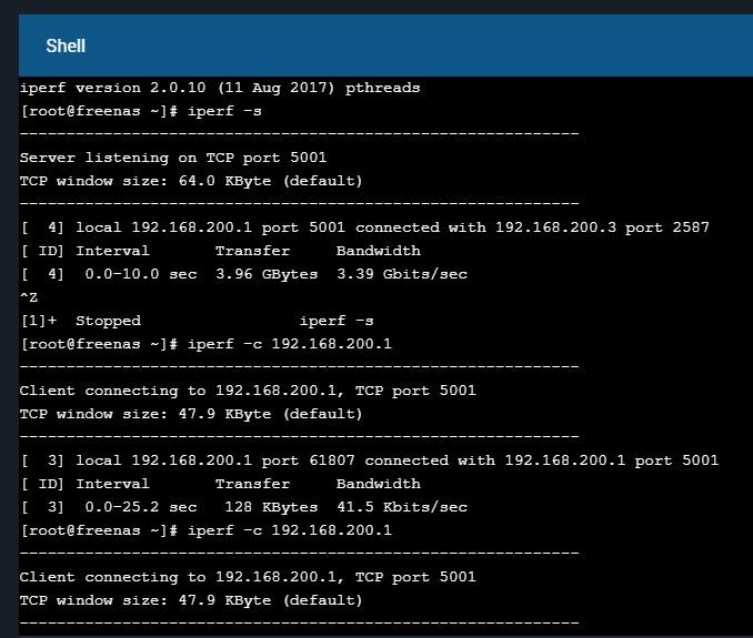 Linux Iperf