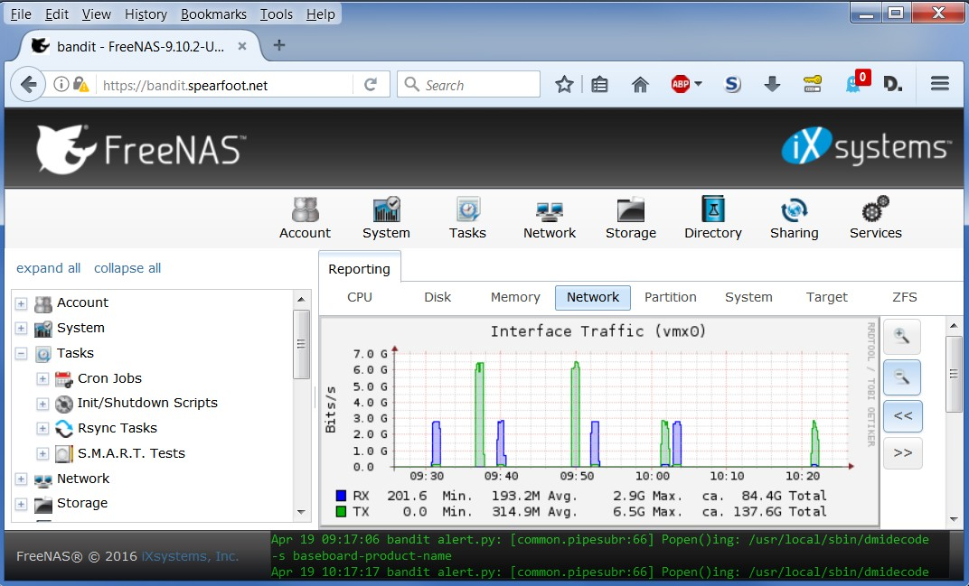 SOLVED - 10GbE FreeNAS servers are constrained when