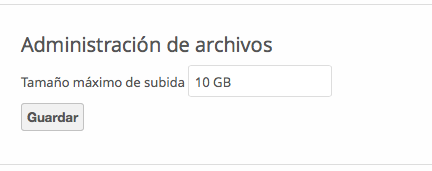 OwnCloud max  upload size > php ini will not work