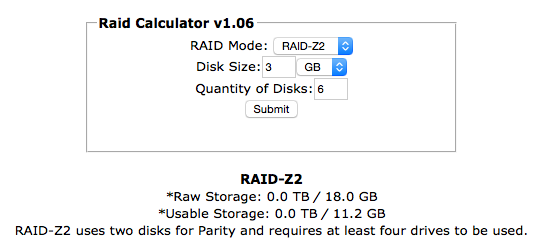 RaidZ2 and simulation, what size is really usable ? | iXsystems