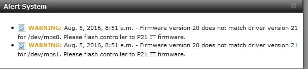 New SAS controller firmware (9 10 1) | iXsystems Community