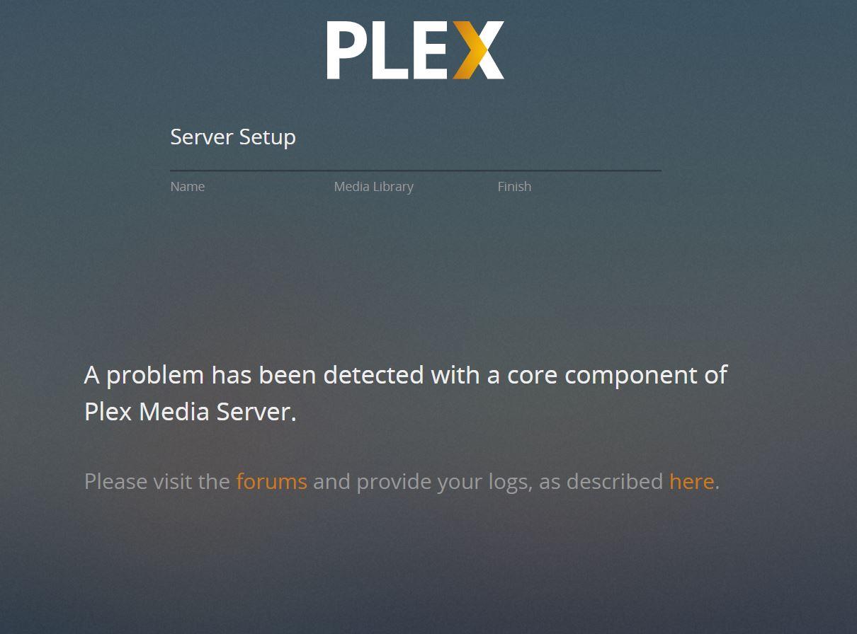 Plex error with plugin version 1 15 2 793-1 | iXsystems Community