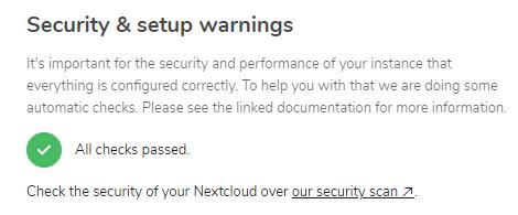 NextCloud Let's Encrypt (nginx) | iXsystems Community