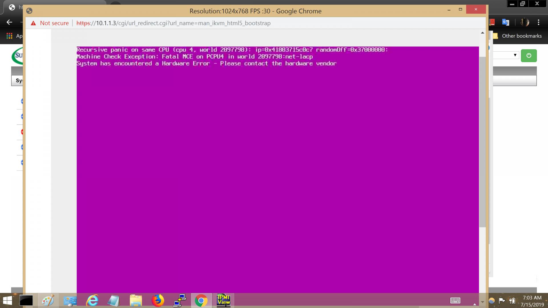 M11SDV-8C-LN4F (AMD Epyc 3251) crashing | iXsystems Community