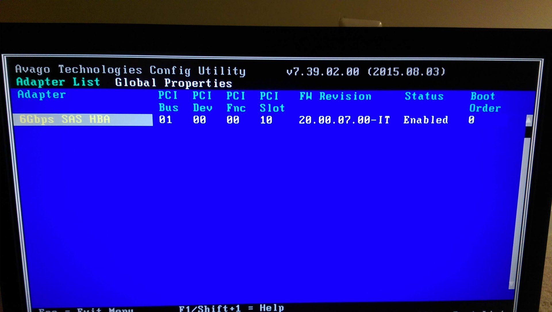 Flashed H310 to IT But FreeNAS Shows Single Disk | iXsystems Community