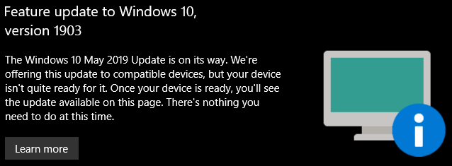 SOLVED - Bhyve - device not quite ready for Windows 1903