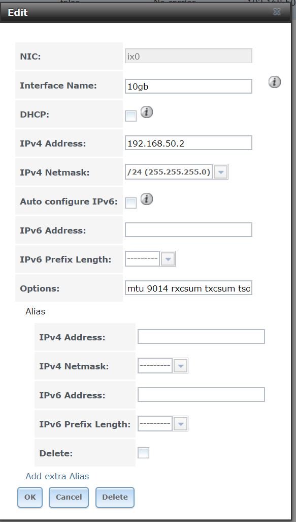 SOLVED - Intel NIC 10gb | iXsystems Community