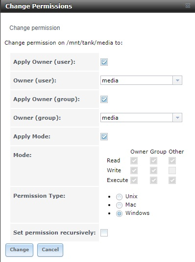 FreeNAS 11 - Media Permission problem | iXsystems Community