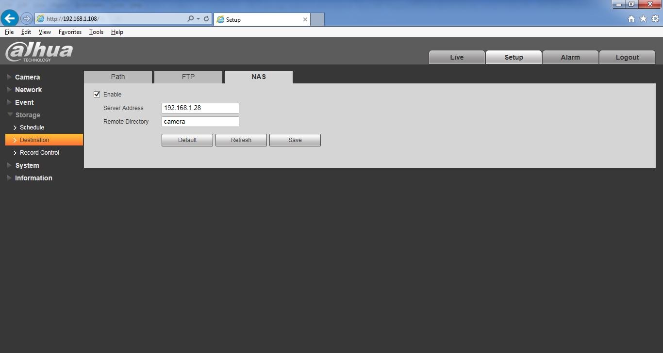 Setting up IP camera   iXsystems Community