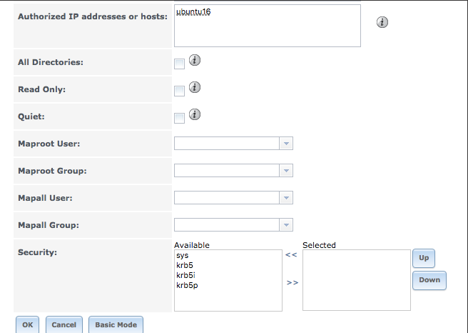 Map NFS Clients to Server's Owner:Group? | iXsystems Community