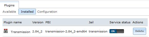 Manual plugin installation in custom jail | iXsystems Community