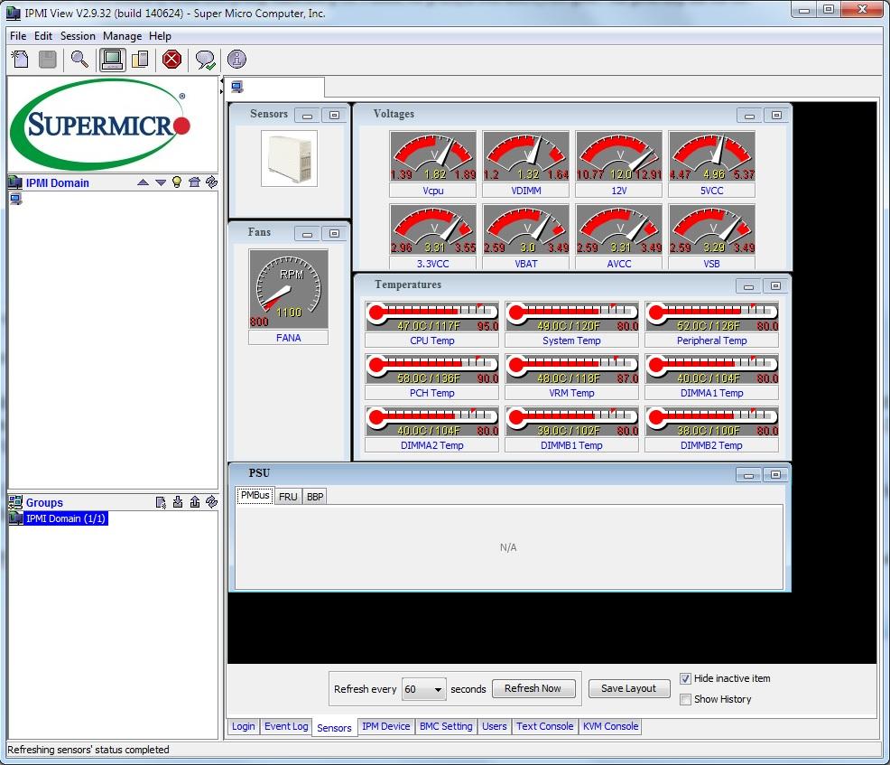 X10SL7-F IPMI View