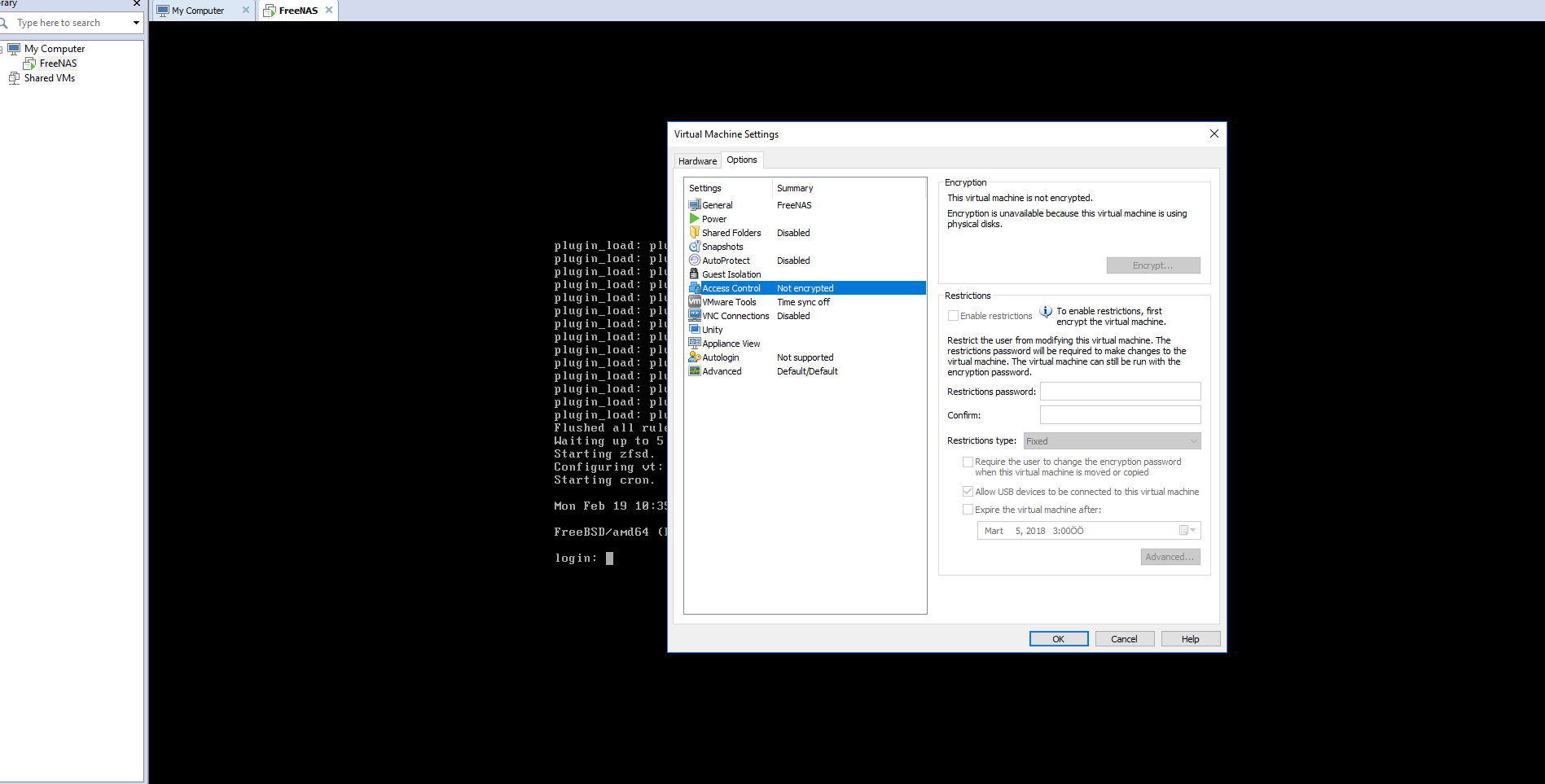 VMware Physical Disk Encryption Problem   iXsystems Community