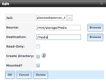 SOLVED - Adding Media to Plex Media Server | iXsystems Community