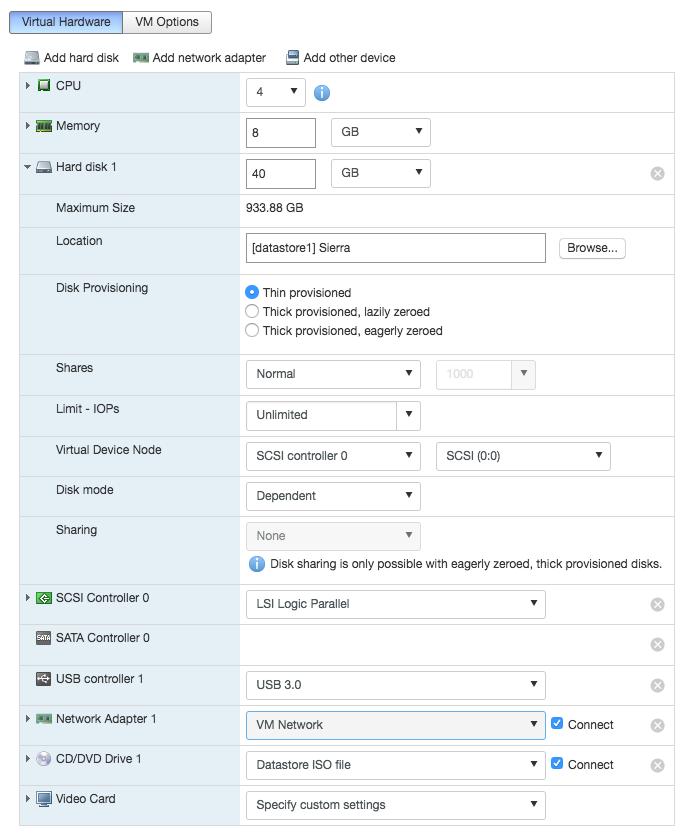 Build Report: Node 304 + X10SDV-TLN4F [ESXi/FreeNAS AIO