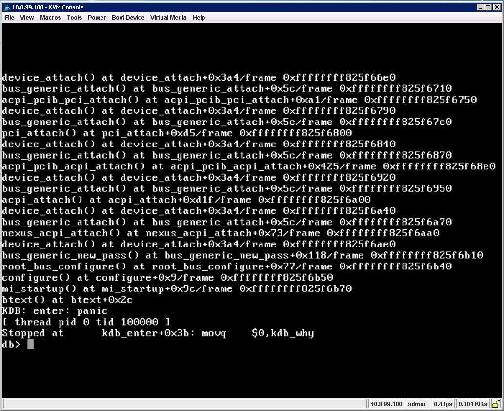 Trouble installing FreeNAS on Cisco UCS C240 | iXsystems