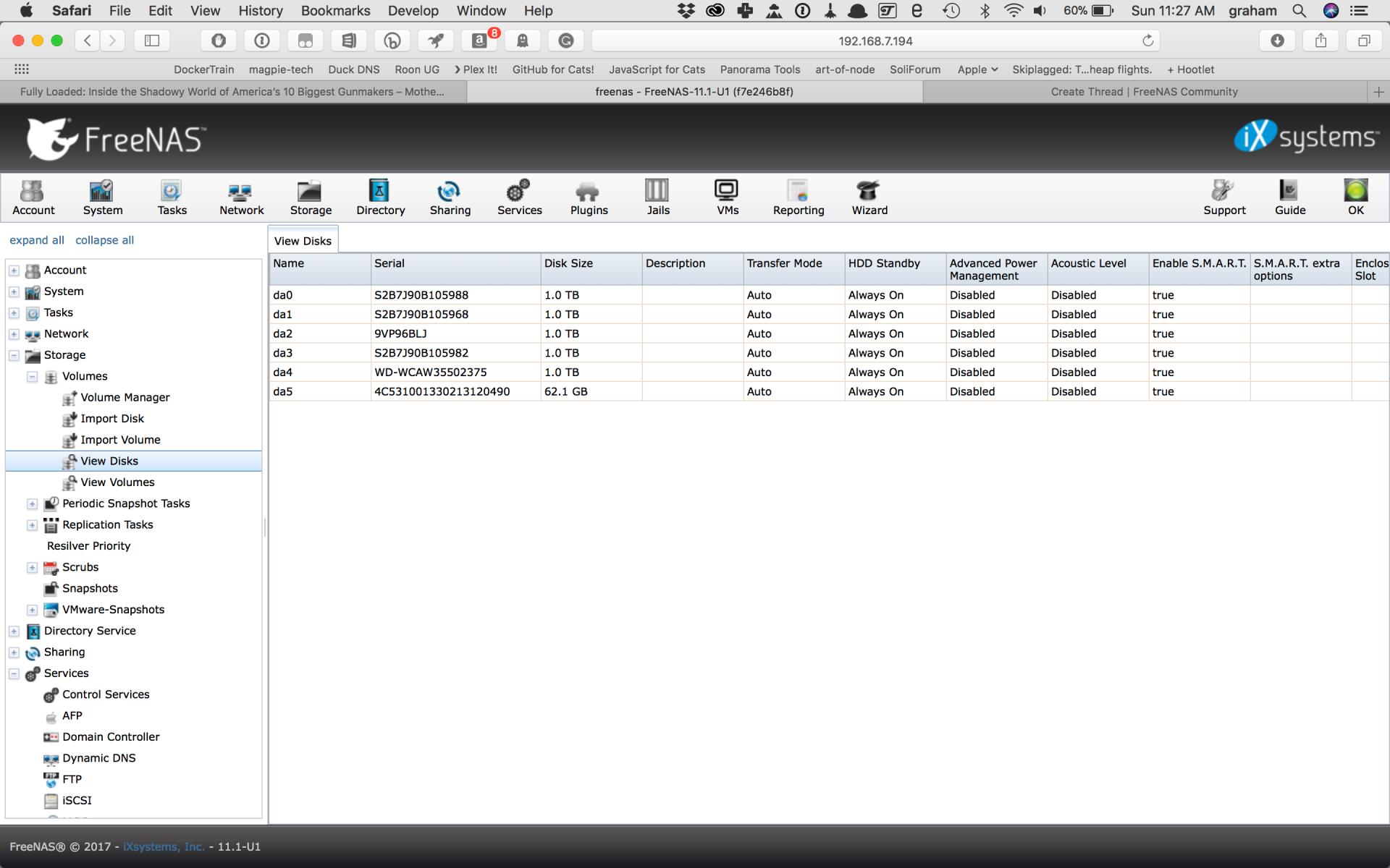 BUILD - Odd HBA / boot USB behavior | iXsystems Community