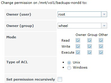 NFS Share and file permissions | iXsystems Community