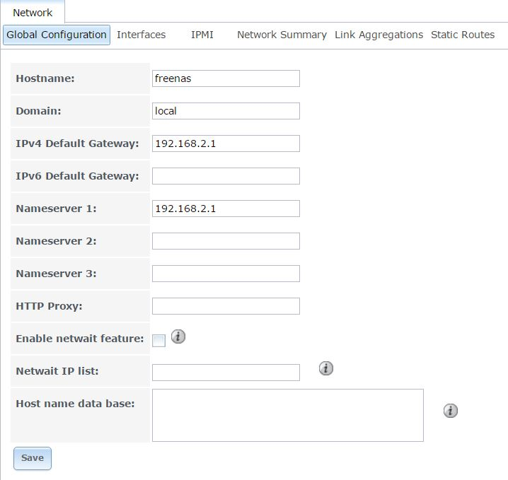 How to set up static IP   iXsystems Community
