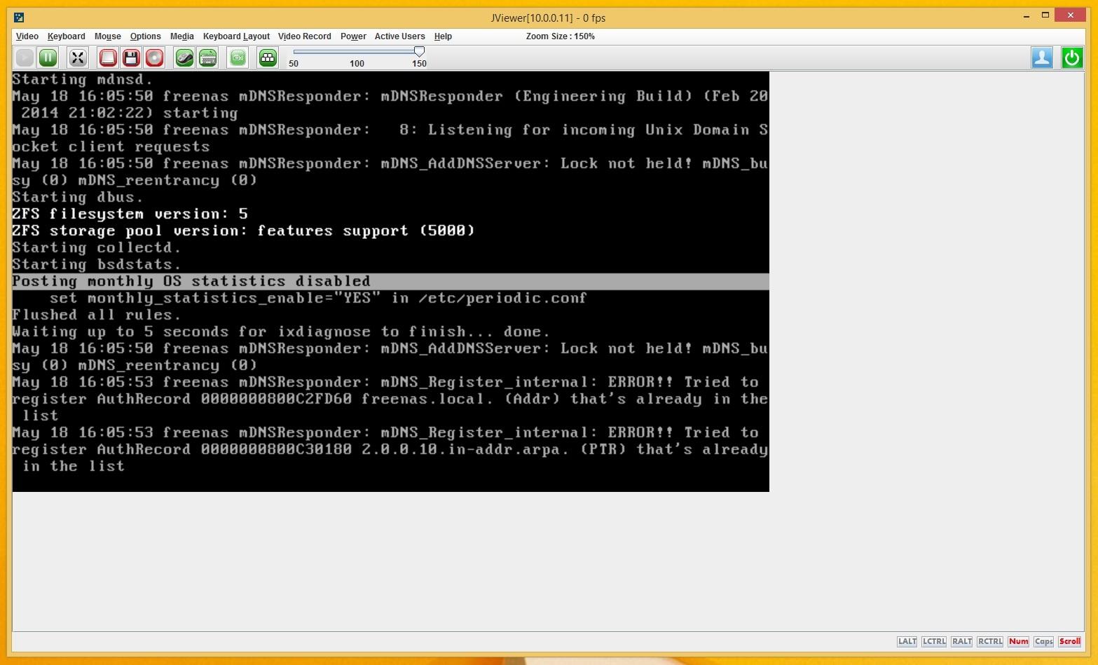 Installation Error - won't Boot | iXsystems Community