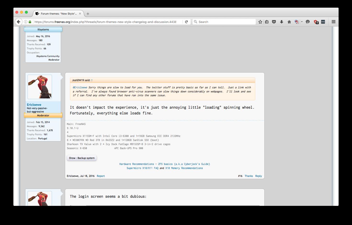 XenForo 1 x Forum themes:
