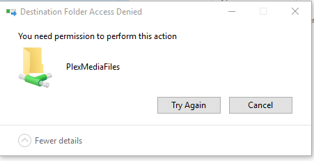SOLVED - I need help with Windows 10 write access