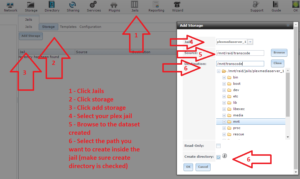 Plex transcoder temporary directory | iXsystems Community