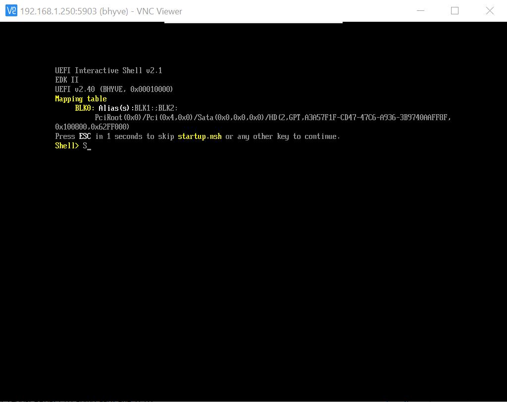 FreeNAS 11 RC stable - UEFI mode and Ubuntu VM after