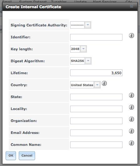 Webgui Https error NET::ERR_CERT_COMMON_NAME_INVALID | iXsystems