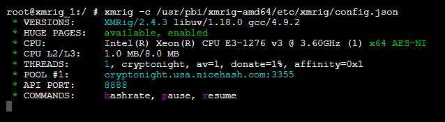 Available Plugin] XMRig - Monero (XMR) and AEON Cryptocurrency Miner