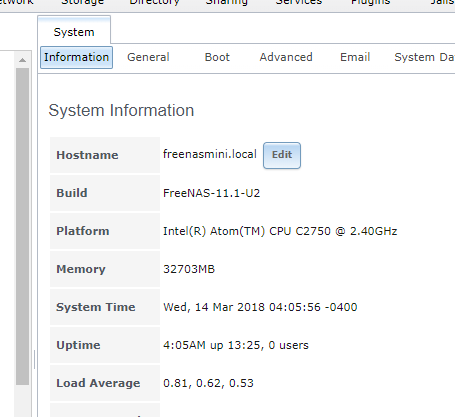 SOLVED - Error Received: Please help Guru | iXsystems Community