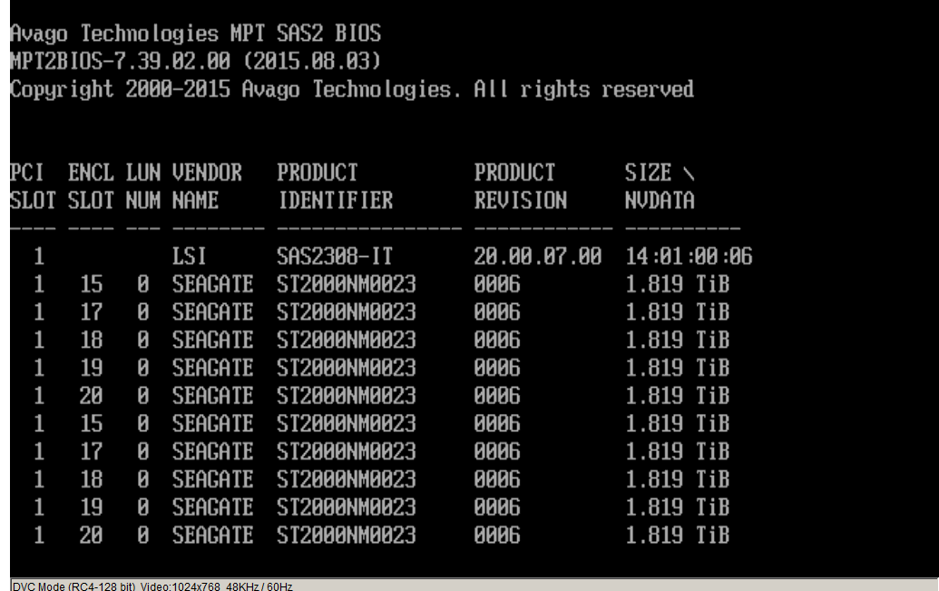 SOLVED - Booting (not) from HBA | iXsystems Community