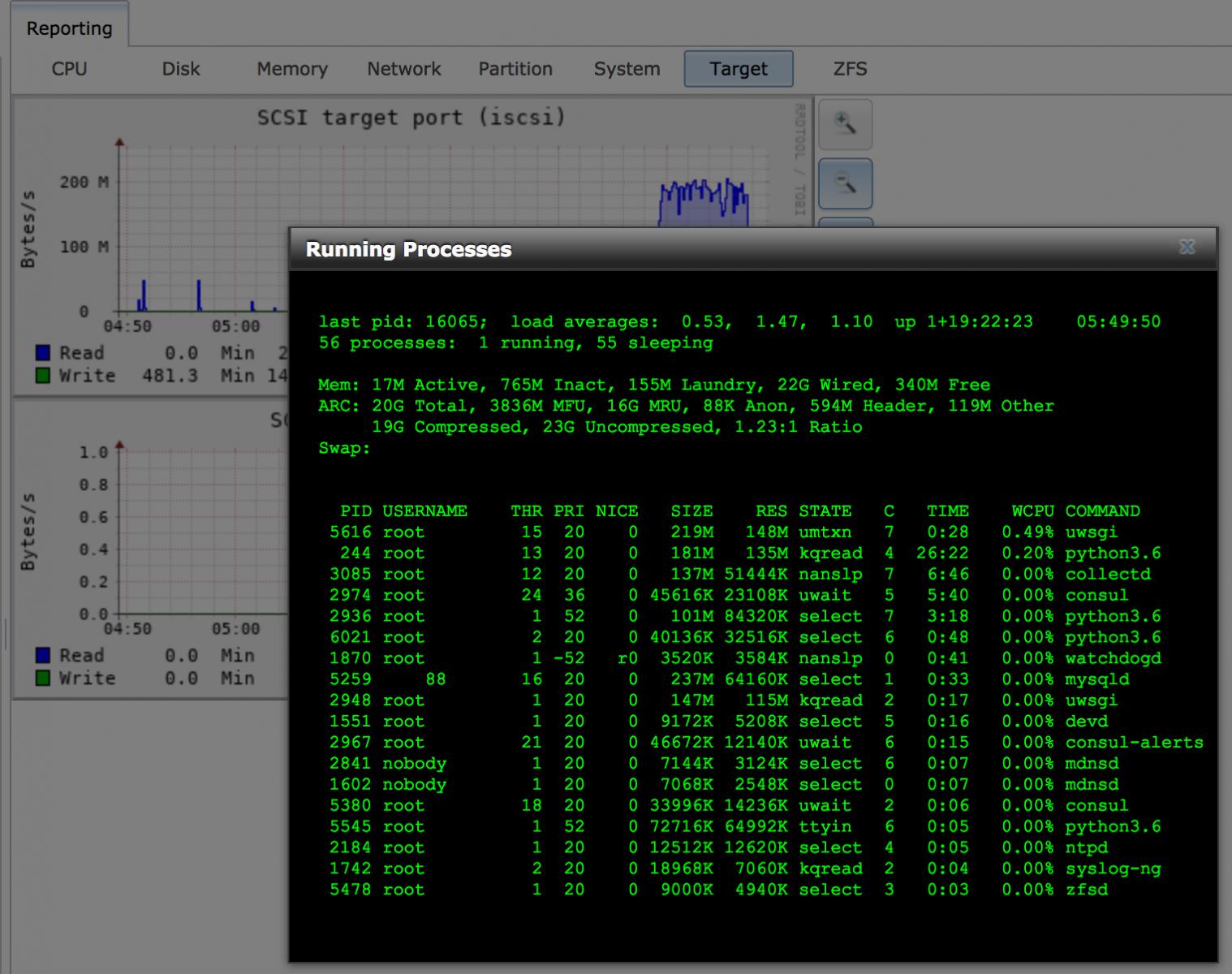 FreeNAS 11 1 U6 rebooting randomly when transfering via