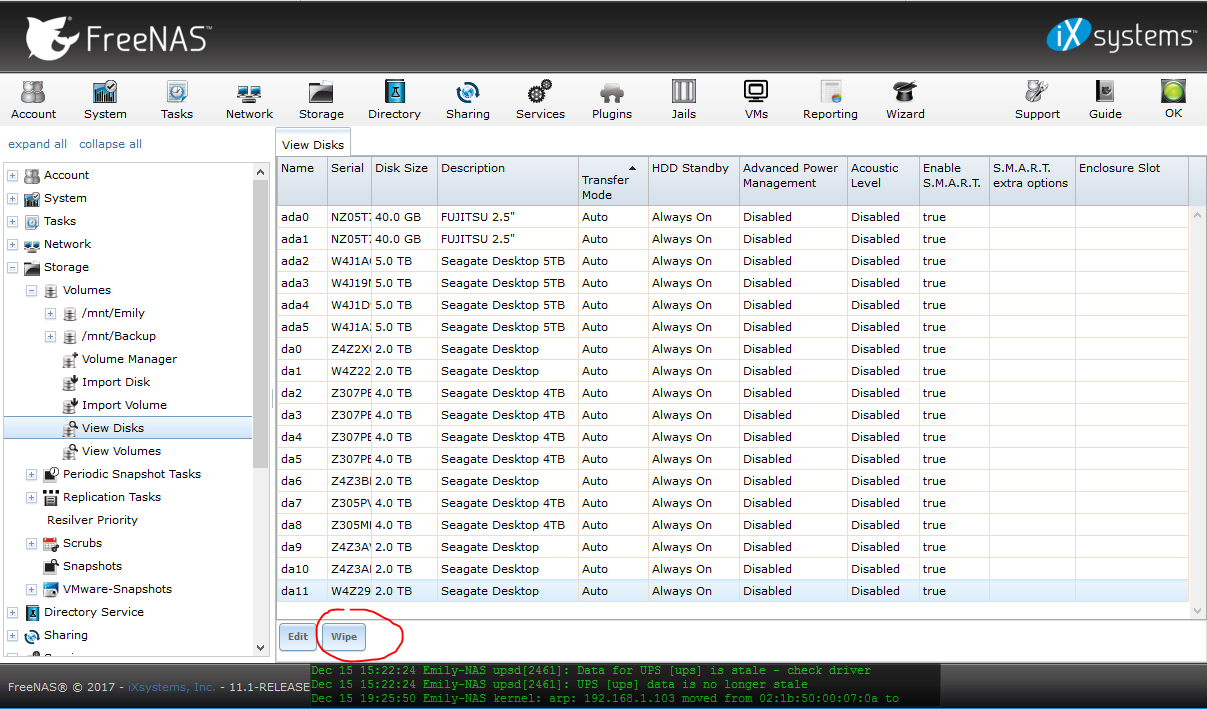 Hard drive failure = bad things happen | iXsystems Community