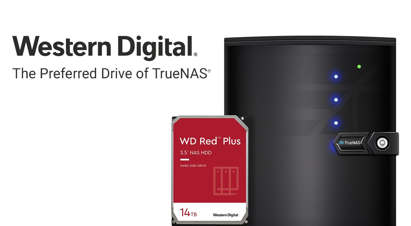 Western Digital Red Plus and TrueNAS Mini